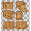 賽銭箱(3D・CG)