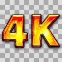 4Kアイコン
