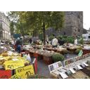 朝の市場(ドイツ)