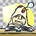 勉強の副作用。(the aftereffect of study.)