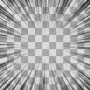 集中線 透過・合成用 1000px*1000px