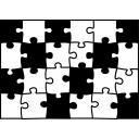 【背景素材260】ジグソーパズル1