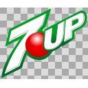 セブンアップ(7UP)のロゴ
