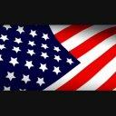 【720HD】はためく国旗背景 アメリカ