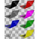 ノートパソコン全7色+α