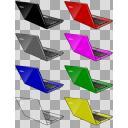 ノートパソコン全7色+α(反転)