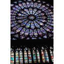 ノートルダム寺院の薔薇窓