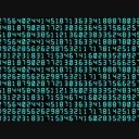 デジタル数列素材(横移動)