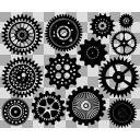 歯車 ブラシ用素材13種