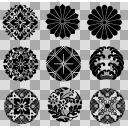 和の紋様 ブラシ素材詰め合わせ2