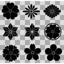 和の紋様 ブラシ素材詰め合わせ3