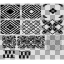 和の地紋 シームレスパターン背景素材詰め合わせ