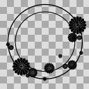 【丸フレーム枠】22 菊1