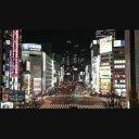 新宿南口付近の甲州街道 【夜景】