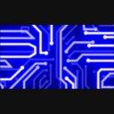 【動画素材】回路2(ブルー)