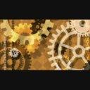 【動画素材】回る歯車2(セピア)