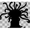 立ち絵(シルエット)-異形の怪物その3